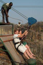 Foofie Slide at Victoria Falls, Zimbabwe