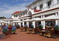 The Stanley Terrace at the Victoria Falls Hotel