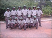 VFAPU scounts who patrol in and around Victoria Falls