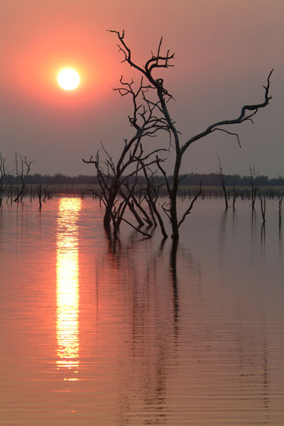 Kariba Dam Sunset