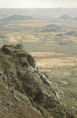 Worlds View in the Eastern Highlands of Zimbabwe