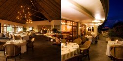 The Palm Restaurant at Ilala Lodge - Victoria Falls