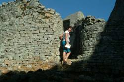 Ancient ruins of Great Zimbabwe
