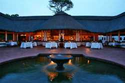 Jungle Junction Restaurant at the Victoria Falls Hotel