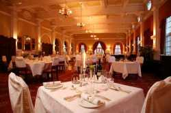 The luxurious Livingstone Room at the Victoria Falls Hotel