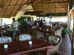 In da Belly Restaurant for casual dining at Victoria Falls Rest Camp