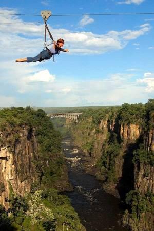 Flying Fox Victoria Falls