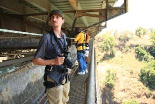 The Victoria Falls Historical Bridge Tour takes guests under the bridge