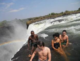 Devil's Swimming Pool, Livingstone Island tour - Victoria Falls