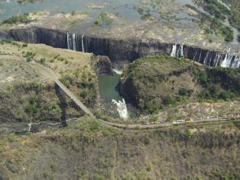 Victoria Falls dry season