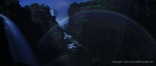 Moonbow Victoria falls
