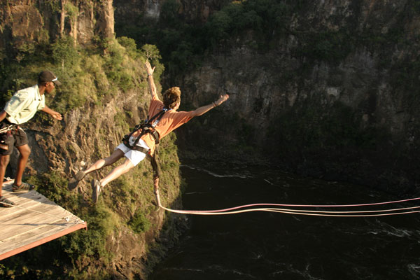 High Wire Activities In Victoria Falls