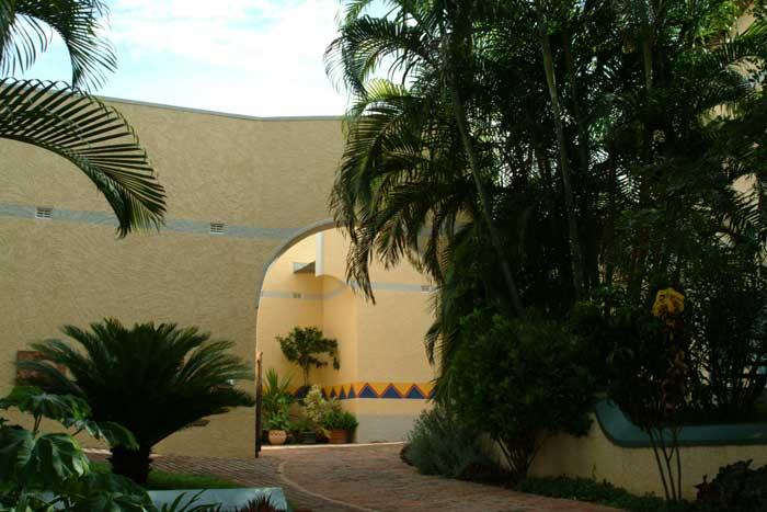 Amadeus Garden Guest House Entrance