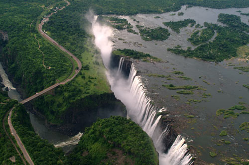 The Victoria Falls - a UNESCO World Heritage Site