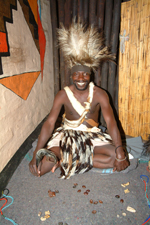 Witch Doctor - The Boma, Victoria Falls