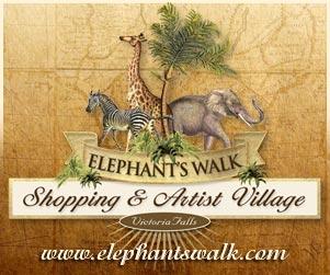Elephants Walk Victoria Falls banner