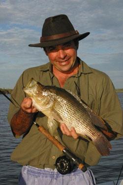 Fish caught in the Zambezi River