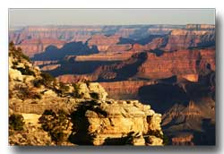 The Grand Canyon - one of the seven natural world wonders