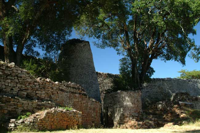 The great zimbabwe ruins second only to the pyramids of egypt great zimbabwe ruins conical tower sciox Image collections