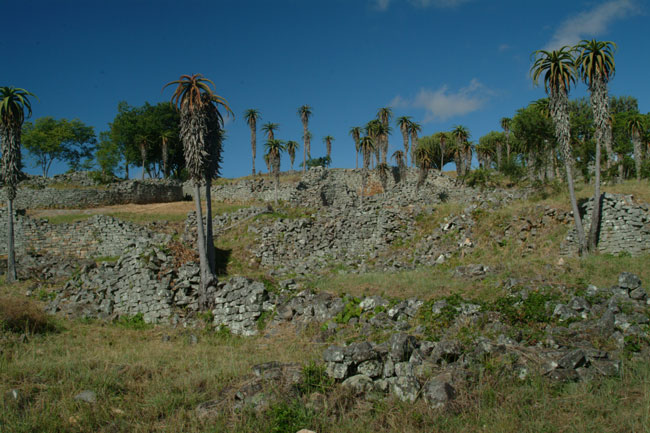 Ruins of the Valley enclosures where the general townsfolk lived