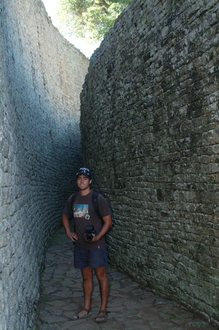 Great Zimbabwe - royal enclosure
