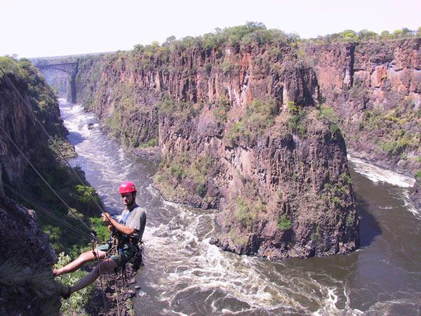 Victoria Falls Abseil