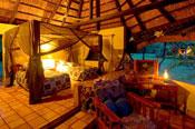 Inside a room at Imbabala Safari Lodge - Victoria Falls