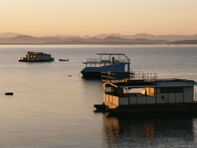 Houseboat on Lake Kariba