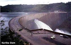Kariba Dam wall