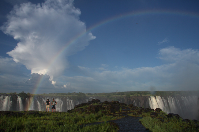 Discounted Victoria Falls activity combos on the Zimbabwe side of the Falls