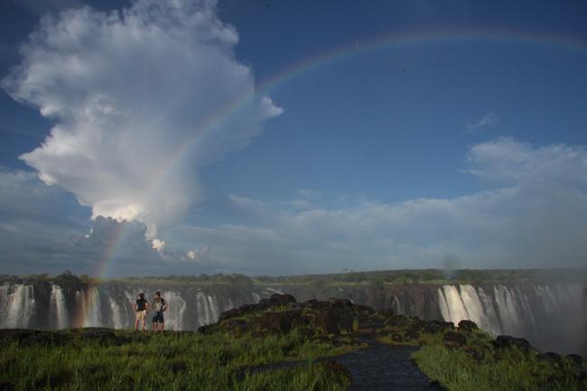 Elephant Camp, Victoria Falls, Zimbabwe