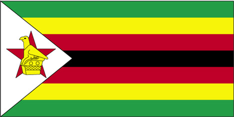 Flag of Zimbabwe - 1980 to present day