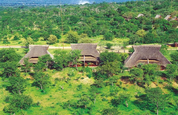 Simple thatched accommodation