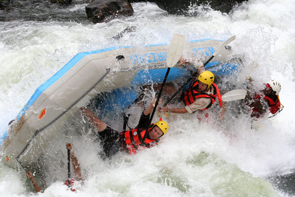 Rafting in the Zambezi River, Zimbabwe - Victoria Falls activities