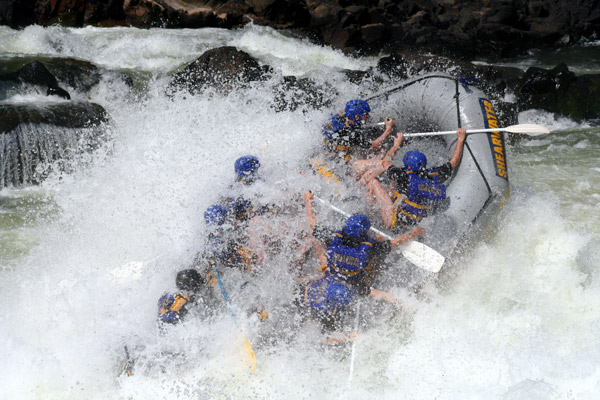 Victoria Falls White Water Rafting - High or Low water, you will NOT