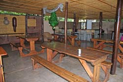 Savanna Lodge Dining Area