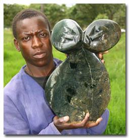 Zimbabwe  stone carving