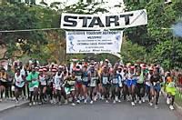 Victoria Falls Marathon Start