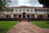 The classic front view of The Victoria Falls Hotel - Victoria Falls accommodation