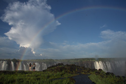Guided tour of the Victoria Falls - Zimbabwe