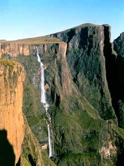 Tugela Waterfalls - the tallest in Africa