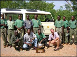 The anti-poaching unti in Victoria Falls