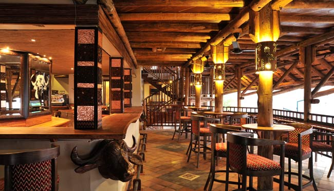 The Buffalo Bar at Vic Falls Safari Lodge