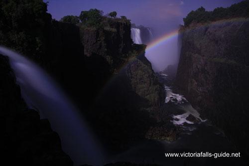 Victoria Falls moonbow