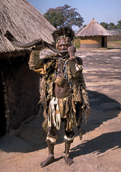 traditonal healer or witch doctor