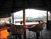Zambia Wilderness Ranch bar area