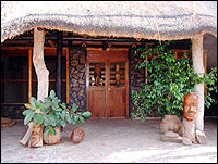 Zambia Wilderness Ranch - room entrance
