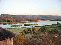 Awesome views of the Zambezi landscape from Zambia Wilderness Ranch