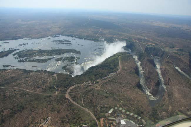 Batoka Gorge below Victoria Falls