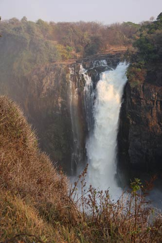 Devils Cataract Victoria Falls